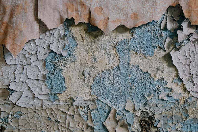Vad krävs för att reparera vattenskadad färg: 4 processer